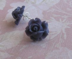 Deep Purple Rose Buds by LKJSlain