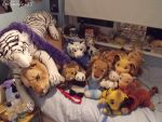 Spot the plushie..... lol by LeoSandra85
