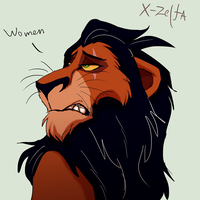 scar_sketch by X-Zelfa