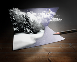 3D christmas'Card by standard2