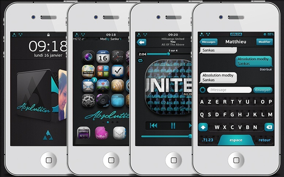 Absolution mod iOS 5 Theme by sankas777