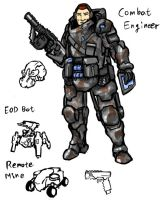 American Combat Engineer by rooki1