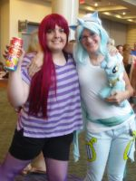 Megacon '14: Berry Punch and Lyra Heartstrings by NaturesRose