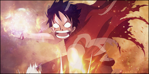 Luffy Signature by Nocturnal-Mercy