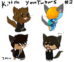 Kitteh YouTubers Adopts 2 *ALL TAKEN* by 11IceDragon11