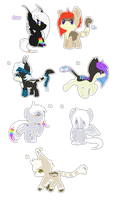 Lia and Aurus foals {closed} by Ivon-adopts