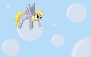 Derpy is BEST background (pony) by Fethur