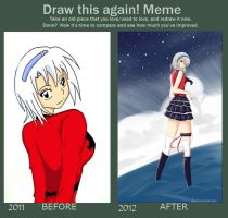 Draw this again meme by Adelaide-Chrome
