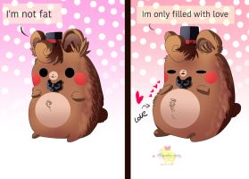 Im not fat by Hiyoko-little-chick