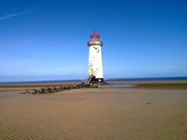 Talacre Lighthouse by friartuck40