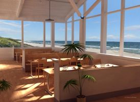 Beachfront Restaurant by 2753Productions