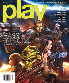 PLAY Magazine Cover - January by Diego-Rodriguez