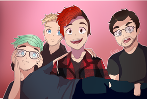 Youtubers : The squad by pacaora