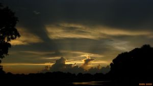 Clouds in my Sunset I by buddhabear