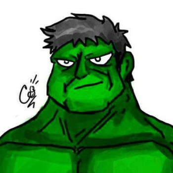 The incredible Hulk  by ferynsane