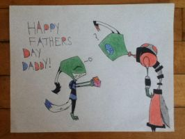 Happy Fathers Day! by WolfOfTheMoons