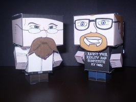 Cubee - Mythbusters by CyberDrone