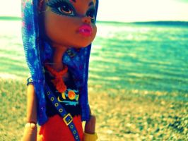 Howleen at the Beach some more by RedHotHawk