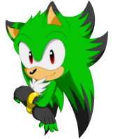 PC -  Zweenie the Hedgehog by BloomPhantom
