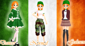 MMD Newcomer .:Republic of Ireland:. by BritishGirlxx