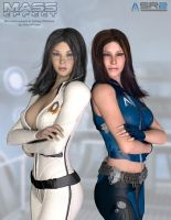 Miranda and Ashley - Choose your side by VisualPhase