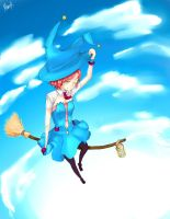 Witch-sky by memorin
