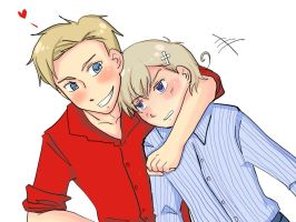 APH -den and noru- by kyupen