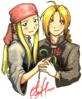 ed+winry by Chernobylpets by KraZyKoOlsFmACLuB