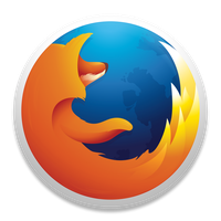 Firefox OS X Yosemite Icon by jivid321