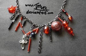 Black and Red Chain by Imva