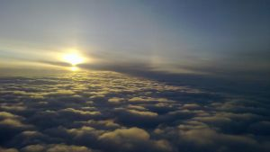 Sunrise Above The Clouds by sudd