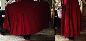 First Layer for Red Riding Hoods Skirt by Sayuri-Shinichi