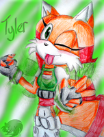Tyler the Wolf by Chico-2013