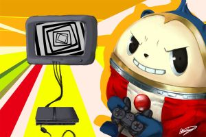 Teddie wants to play by asukalovesbaddoll
