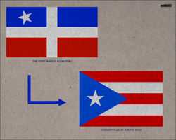 The Puerto Ricain flag by AY-Deezy