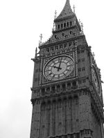 Back to London - Big Ben tower by TheRafflesia