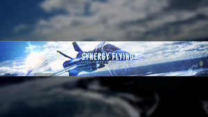 Synergy Flying YouTube Banner by Syruply
