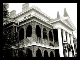 the haunted mansion. by paperthinwalls