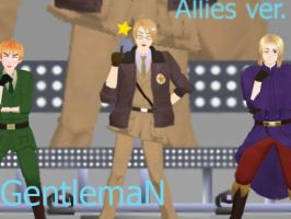 .:MMD Allies Gentleman:.-VIDEO- by Kaitolover253