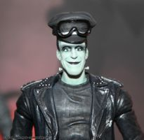 Munsters series 2  hotrod Herman by BLACKPLAGUE1348