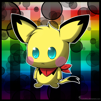 I Heart PICHU by Lunethis