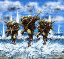 Soldiers 03 - Colour by Bjerg