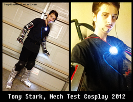 Tony Stark, Mech test Cosplay by uncle-sollux