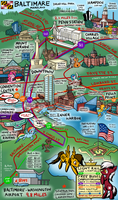 The Brony's Map of Baltimare Mareland by SouthParkTaoist