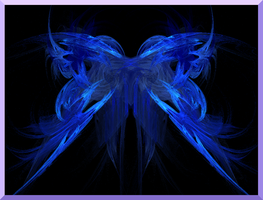 Blue Butterfly by Tooblai