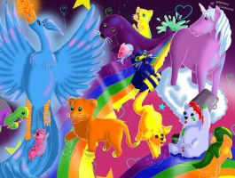 Lisa Frank, You Inspire Me by EveHarding92