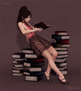 Booklover by Frollein-Zombie