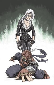 Gogs N Gears 2013 Black Cat And Spider Man by johnni-k