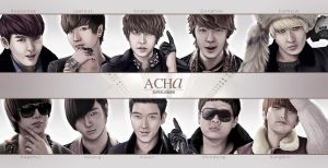 Super Junior A-CHa fanart by MadziaVelMadzik