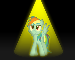 Dashie on the Spotlight by GrayTyphoon